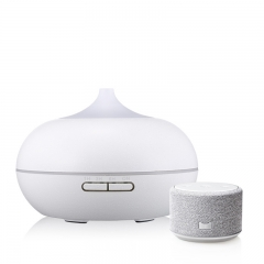 Home Appliances Ultrasonic 300ml Wood Aroma Mist Diffuser for Essential Oil
