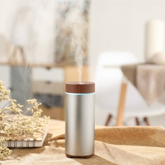 Aluminium USB Battery Portable Aroma Electric Essential Oil Diffuser Ultrasonic Manufacturer