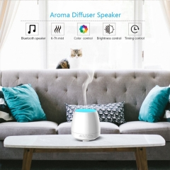 Home Ultrasonic Aroma Mist Humidifier Smart Bluetooth Speaker Essential Oil Aroma Diffuser