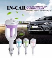 Best selling products warm and cool mist car humidifier usb travel diffuser