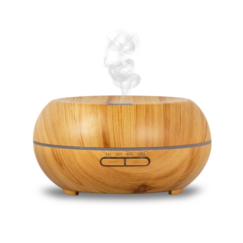 Wood Grain 200ml Ultrasonic Portable Air Humidifier Machine Atomizer Aroma Essential Oil Bamboo Diffuser