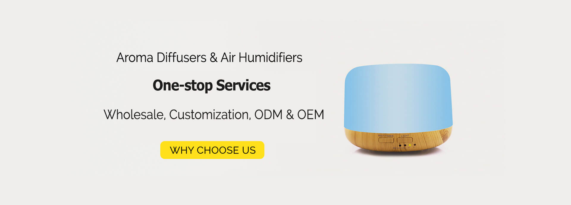 One-stop Essential Oil Diffusers Wholesale, Customization and OEM Services