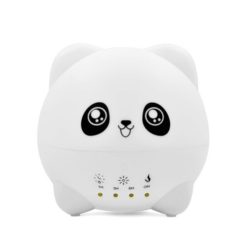 Panda Humidifier 300ml Ultrasonic Diffuser with Touch Control 7 Color Change Night Light Timer Set Waterless Automatic