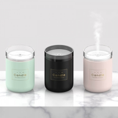 Candle Design Cool Mist Humidifier USB Mini Ultrasonic Humidifier