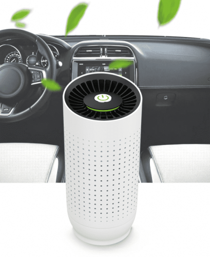 Office table top personal desktop smart 3 level mini portable home room usb car air purifier