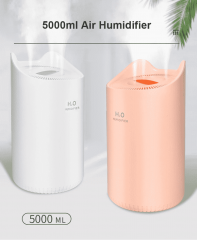5L Air Humidifier Mute Ultrasonic Aroma Diffuser Household Mist Maker Fogger Purifying Humidifier