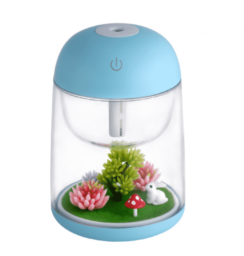 micro landscape humidifier colorful night lamp household bedroom air purification Nightlight USB humidifier