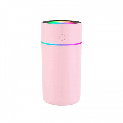 Home Rotimatic LED Night Light Color Changing Portable Mini USB Car Cup Mist Air Cooler Humidifier Aroma Diffuser