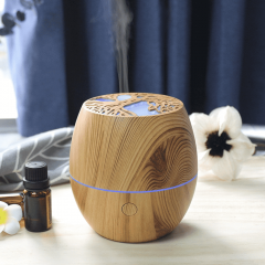 wood-print humidifier art natural essential oil diffuser air humidifier
