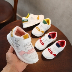 Girls' sneakers summer new Korean version of breathable children's sports shoes