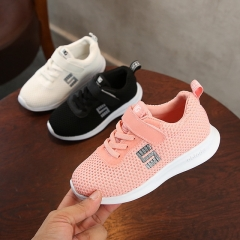 Mesh breathable shoes single shoes spring and summer models boys and girls casual sports shoes