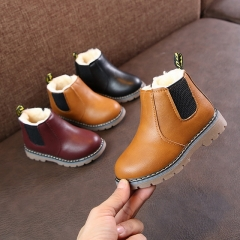 Children's Martin boots autumn and winter waterproof booties