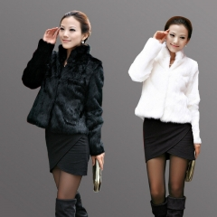 New autumn and winter women's fur coat long-sleeved women's clothing