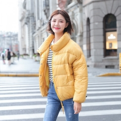 Women's winter new thick coat hooded down jacket