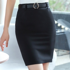 Women's Slim Fashion Suit Bag Hip Skirt Professional Skirt