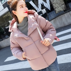 New winter short Slim Korean student cotton coat