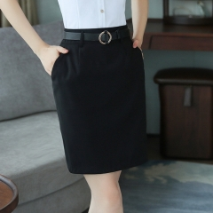 OL wild office professional suit skirt