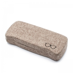 Retro elegant minimalist anti-pressure glasses case
