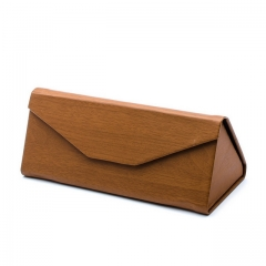 Vintage elegant folding wallet glasses case