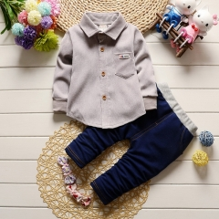2019 spring children's fashion two-piece suit