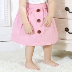 Ins explosion models summer new girls A word skirt baby multi-color skirt