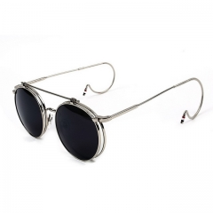 Steampunk flip vintage glasses S861