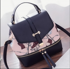 Fashion ladies double / shoulder bag large capacity casual fashion bag