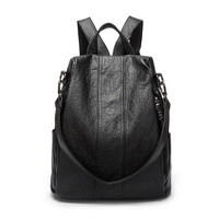 2020 spring new Korean version of the British fashion wild dual-use women's backpack