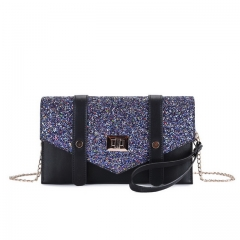 2020 new sequin envelope bag fashion versatile clutch