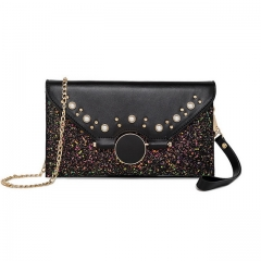 Hand take envelope bag new fashion pearl casual envelope bag