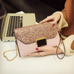 New lock envelope bag simple fashion clutch
