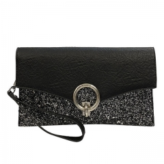 Fashion ladies wallet retro classic stitching clutch