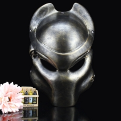 Collected Yuanzu Iron Blood Warrior Mask Movie Theme Halloween Mask Alien Battle Iron