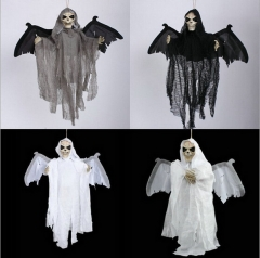 Halloween Ghosts New Voice Control Bats Ghost Bats Ghost Eyes Glowing Wings will Move Green Ghosts