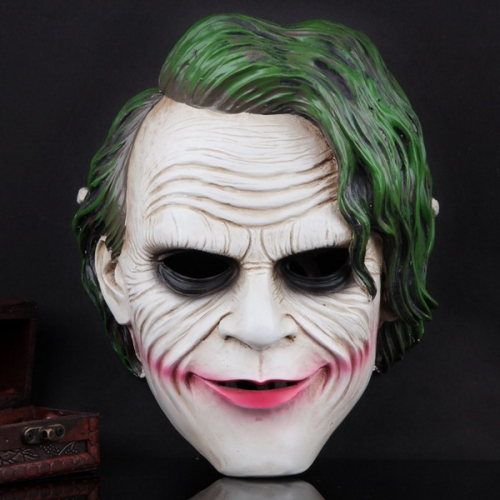 Halloween Movie Theme Resin Dark Knight Mask Clown Mask
