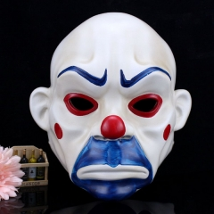 Resin crafts mask halloween clown robber mask joker sads film