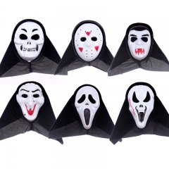 Devil Mask Halloween Mask pvc Scream Mask Skull Mask Horror Mask Ghost Mask