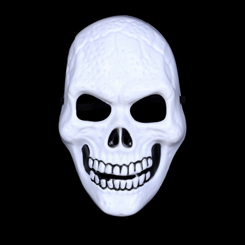 Hot White Death Dress Up Mask Halloween Horror Skull Grimace Mask Festival Party Performance Mask