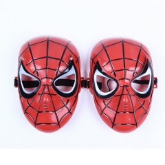 Children's cartoon anime mask movie theme spider man red black mask holiday party props