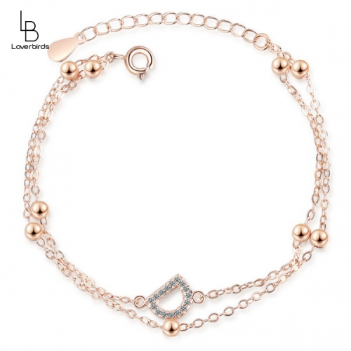 Fashion mother-in-law D diamond bracelet double temperament hand jewelry