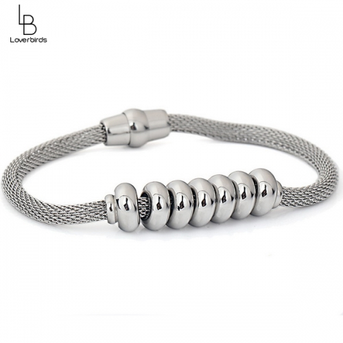 Cable Bracelet Wear Beads Environmental Protection Titanium Steel Bracelet Female Jewelry