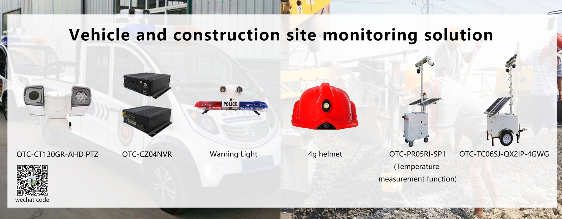 Vehicle and construction site monitoring solution
