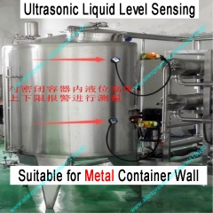 XKC-C372-2P Ultrasonic Liquid Level Controller Specially for Metal Material Container Suiable for All Types of Liquid