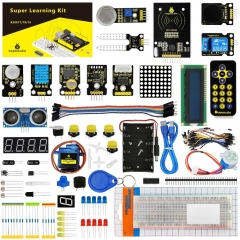 New Packing! Keyestudio Super Starter Learning Kit (NO UNOR3 Board) for Arduino Programming Education Kit + PDF