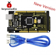 New Keyestudio Super Mega 2560 R3 Advanced  5V 2A MP2307DN SOP-8 +USB Cable For Arduino Mega