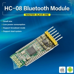 Keyestudio HC-08 Bluetooth Master  Slave Module Transceiver for Arduino Compatible with iOS and Android