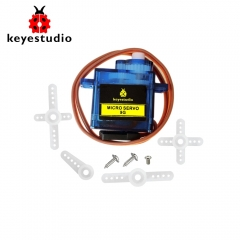 1pcs  keyestudio 9G  MINI SG90 90 degrees Servo Motor Blue with PH2.54 Connector For Arduino Robot Car