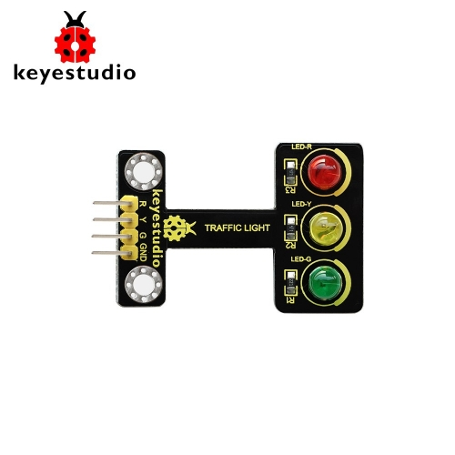 Keyestudio Traffic Light Module (Black and Eco-friendly) For arduino