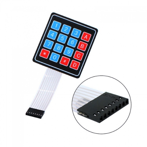 3PCS/LOT 4*4 Matrix Array/Matrix Keyboard 16 Key Membrane Switch Keypad for arduino 4X4 Matrix Keyboard