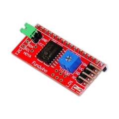 Free shipping! NEW IIC/I2C/TWI Serial Interface Board Module Port for Arduino 1602 2004 LCD